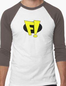 freakazoid logo Men's Baseball ¾ T-Shirt