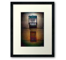nostalgy & absence Framed Print