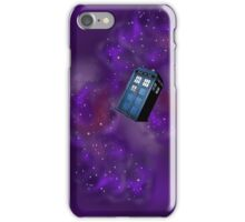 Doctor Who Tardis in the universe iPhone Case/Skin