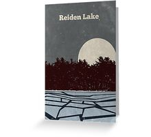 Reiden Lake (fringe) Greeting Card