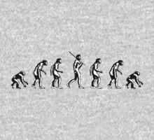 Backwards Evolution One Piece - Short Sleeve