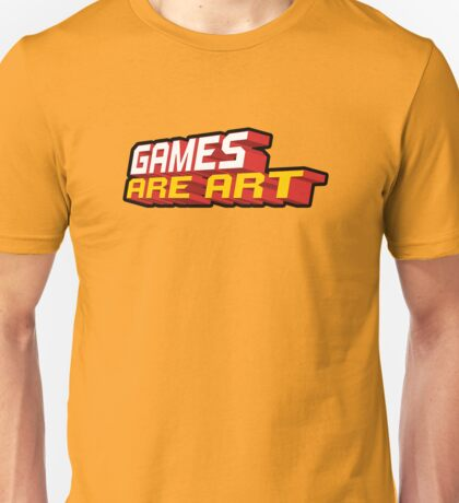 Games Are Art Unisex T-Shirt