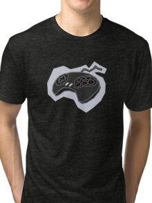 Retro Game Controller Tri-blend T-Shirt