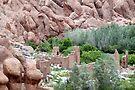 Dadas Gorge Ruin - Morocco by Debbie Pinard