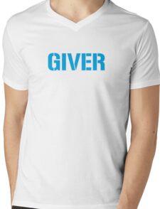 Giver Mens V-Neck T-Shirt