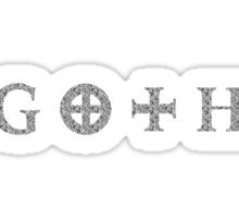 Goth Sticker