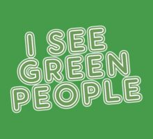 I See Green People St Patricks Day by CarbonClothing