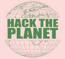 Hack The Planet Kids Clothes