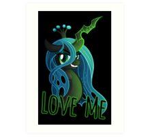 LOVE ME Chrysalis Poster (My Little Pony: Friendship is Magic) Art Print