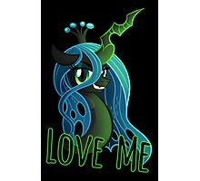LOVE ME Chrysalis Poster (My Little Pony: Friendship is Magic) Photographic Print