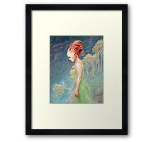 The Collapse  Framed Print