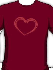 Inked Heart Valentines Day T-Shirt