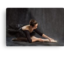 Dancer in Low Key Metal Print