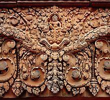 Carvings of Banteay Srei, I by Vladimir Rudyak