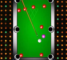 Pool Table Art by Delights