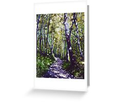 'Summer Woods (Moses Cone State Park, NC)' Greeting Card