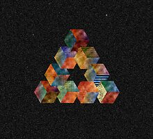 Impossible Triangle IPhone case by Sam Mobbs