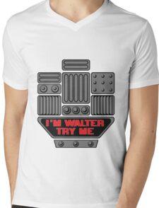 Wobot Mens V-Neck T-Shirt