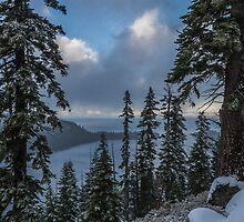 A Winter View - Emerald Bay Road by Richard Thelen