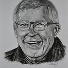 Sir Alex Ferguson by Tricia Winwood