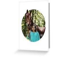 RF Sarah's Dream Saddlebred Greeting Card
