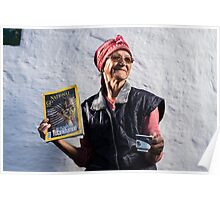 Old Lady from Hagieni. Poster