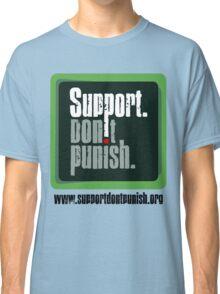 Support Don't Punish (large logo) Classic T-Shirt