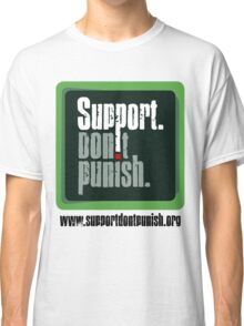 Support Don't Punish (large logo) Classic T-Shirt