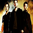 Supernatural (Jared/Jensen/Misha) by GiraffesAreCool