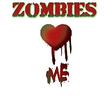 Zombies love Me by AnnaCas
