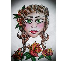 Gypsy Tattoo _ Roses Photographic Print