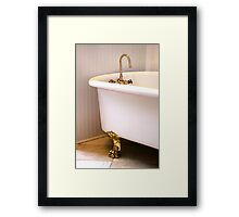 1036 Everett Ave Louisville / Claw Foot Tub Framed Print