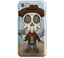 Skull Bandit iPhone Case/Skin