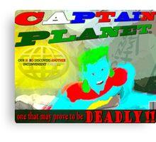 Captain InCONvenient Canvas Print