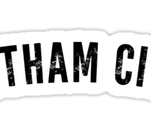 Gotham City Shirt Sticker