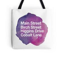 Main Street Birch Street Tote Bag