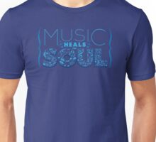 Music Heals the Soul Unisex T-Shirt