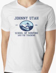 Point Break Movie Johnny Utah FBI  Mens V-Neck T-Shirt
