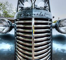 HDR - Tall Old Chevy by Doug Greenwald