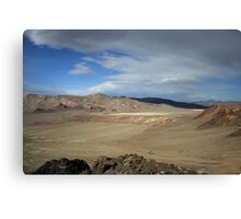Marbled Desertview,Black Rock Desert,Gerlach,Nevada USA Canvas Print