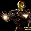 IRON MAN SPEED PAINTING by Wayne Dowsent