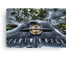 HDR - Old Olds Badge Canvas Print