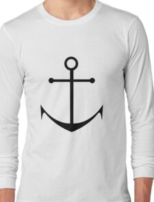 Ship Anchor Long Sleeve T-Shirt