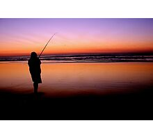 Fishing on Fraser Island Photographic Print