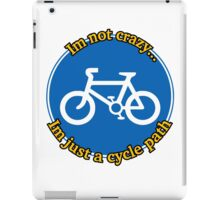 Cycle Path iPad Case/Skin