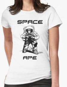 Space ape Womens Fitted T-Shirt