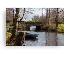 Irish Stone Bridge Canvas Print