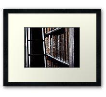 Trinity Bookshelf Framed Print