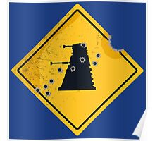 Dalek Crossing Poster