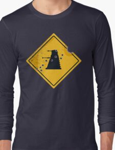 Dalek Crossing Long Sleeve T-Shirt